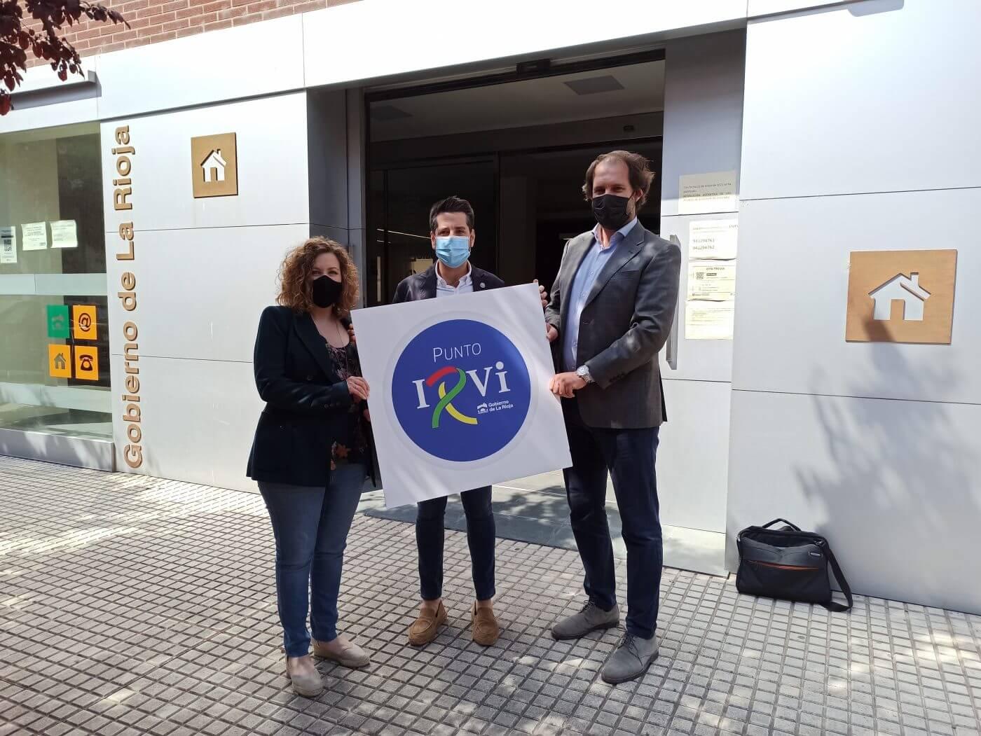Las Oficinas de Atención al Ciudadano del Gobierno de La Rioja son desde hoy 'Puntos IRVI' para informar, asesorar y tramitar sobre vivienda