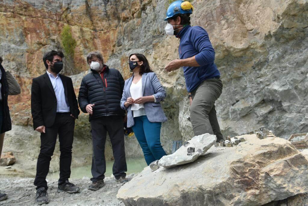 El Gobierno de La Rioja pone a las minas de pirita de Navajún como ejemplo de turismo sostenible