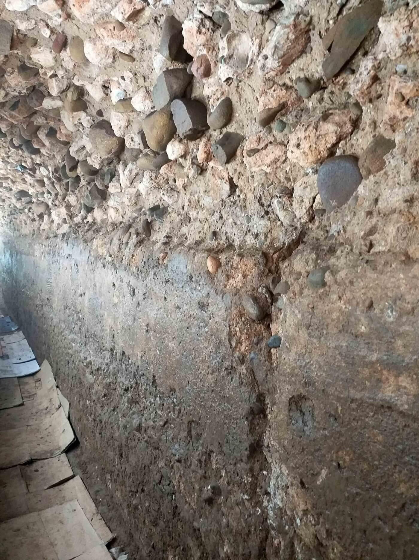La campaña arqueológica en la cloaca romana de Calahorra ya ha excavado ocho nuevos metros que servirán para mejorar su conocimiento