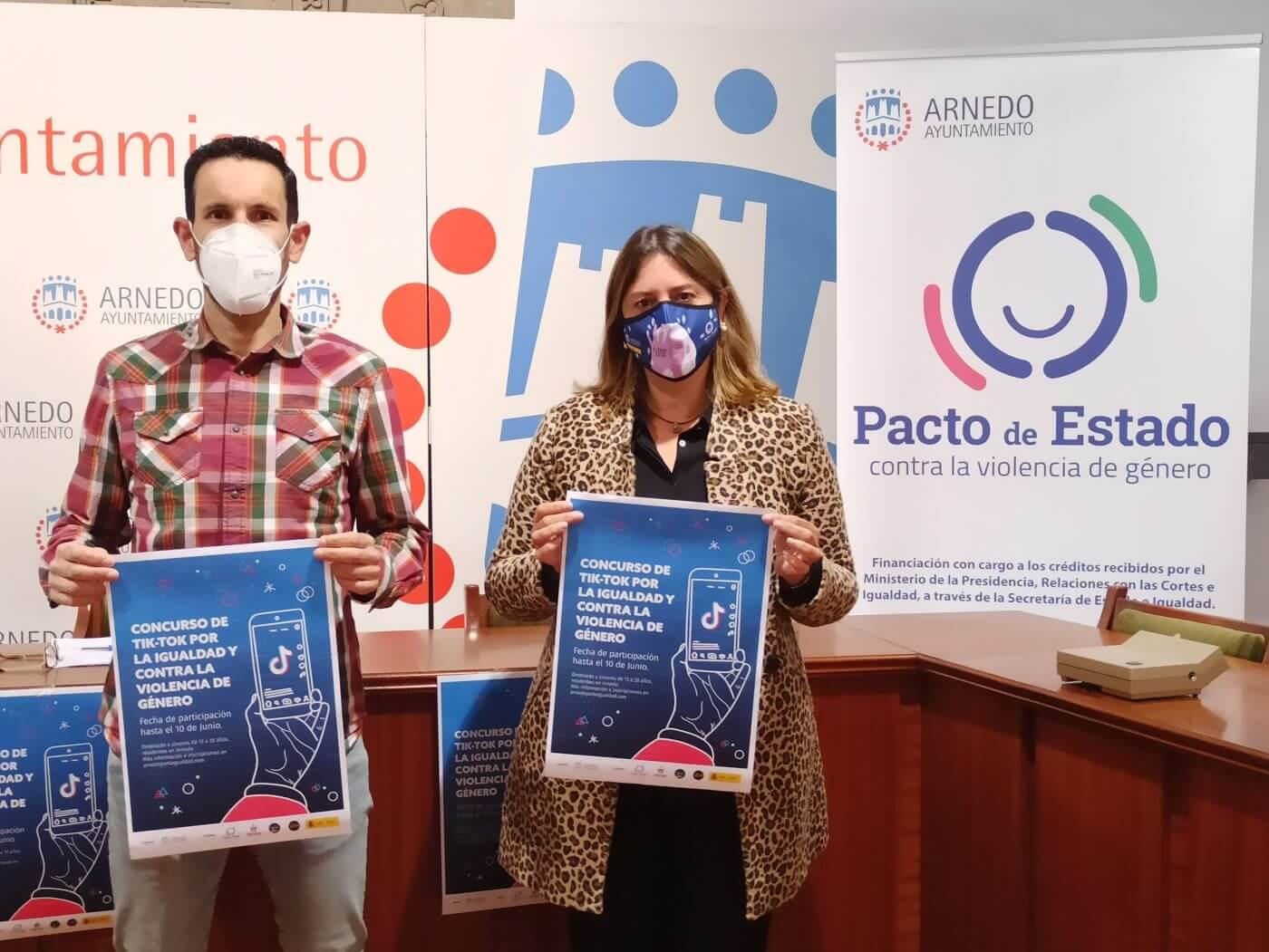 El Ayuntamiento de Arnedo convoca un concurso de videos de Tik Tok para animar a los jóvenes a que reflexionen sobre la igualdad y contra la violencia de género