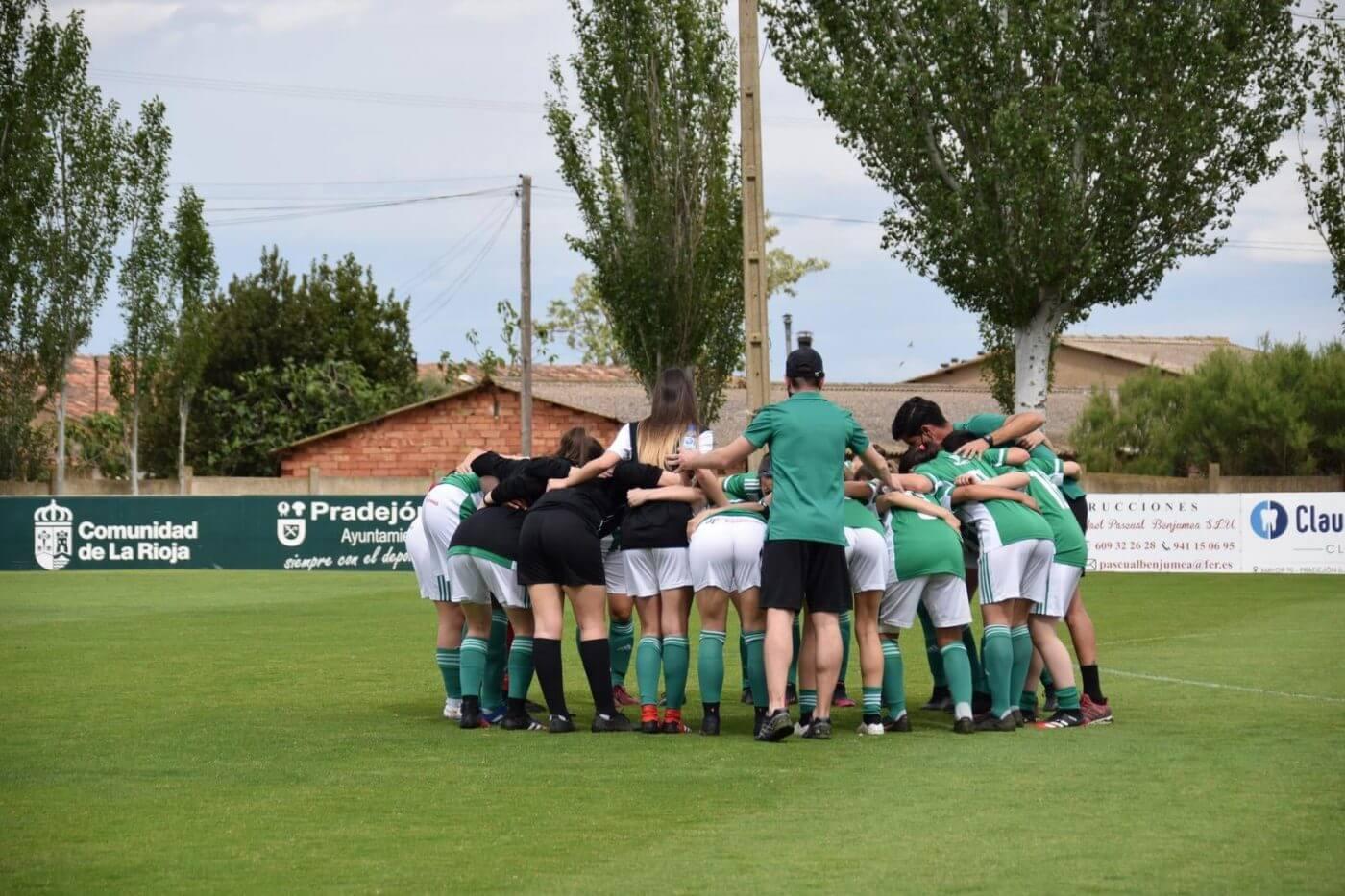 El CD Pradejón femenino se jugará el ascenso a la Liga Reto ante el UD Viera de Las Palmas de Gran Canaria