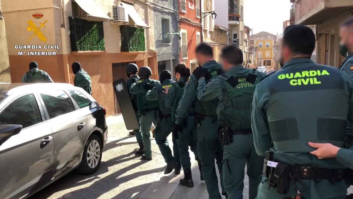 La Guardia Civil desmantela el principal punto de venta de droga a menores en Calahorra