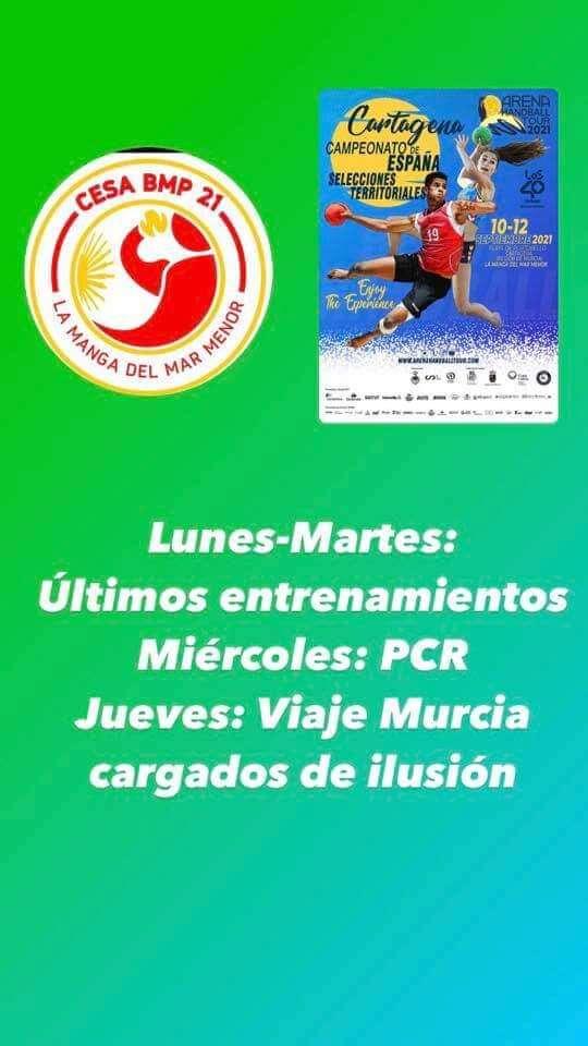 Lee más sobre el artículo Diez jugadores del Club de Balonmano Arnedo seleccionados para el Campeonato de España de Selecciones Territoriales de Balonmano Playa