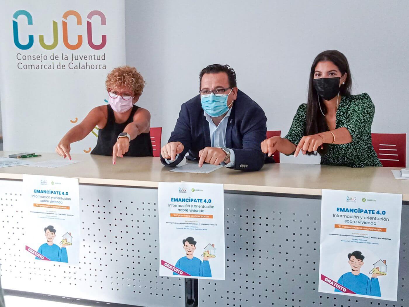 """Lee más sobre el artículo El Consejo de la Juventud de Calahorra pone en marcha el proyecto """"Emancípate 4.0"""" para asesorar y orientar a los jóvenes de la comarca"""