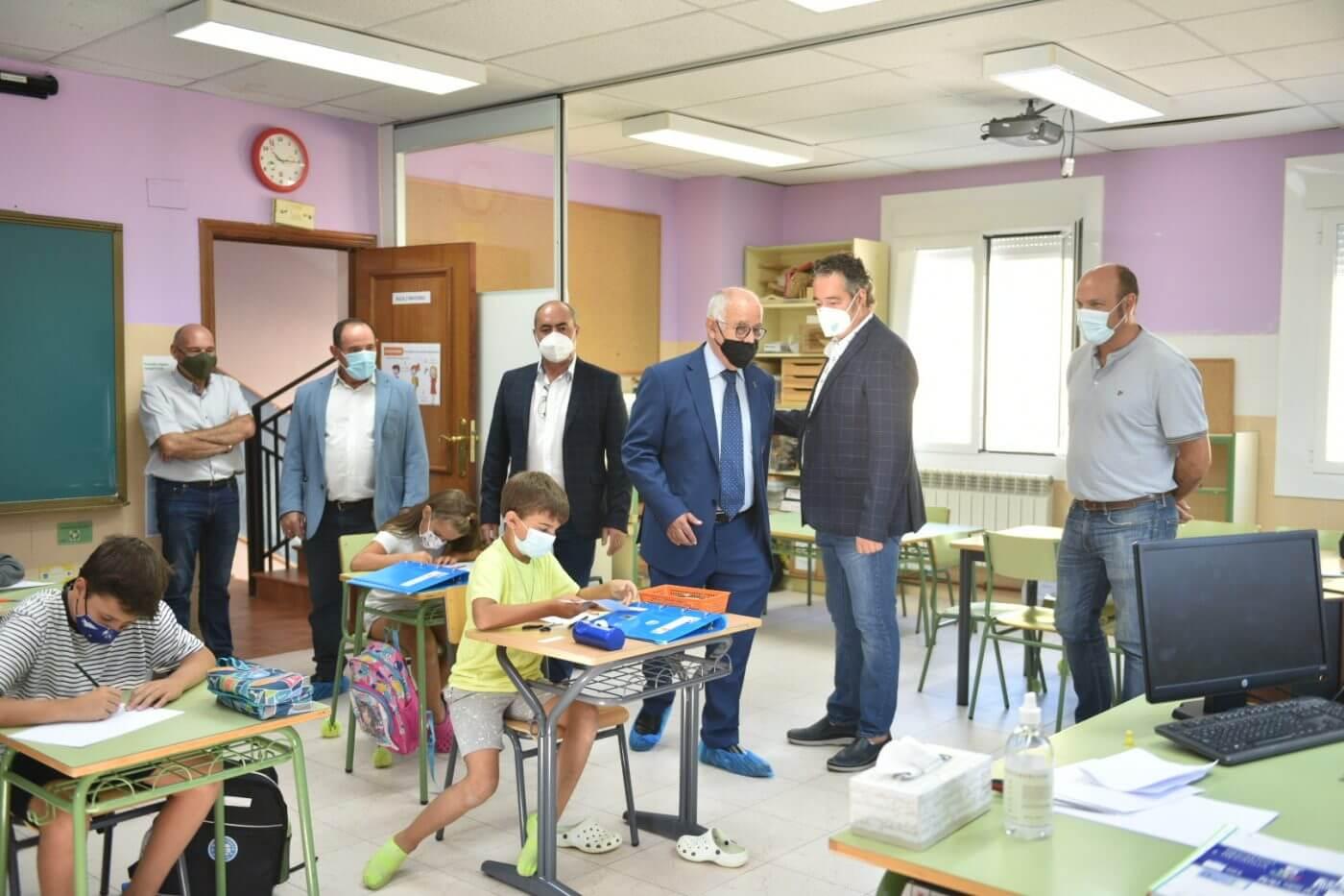 Lee más sobre el artículo Inauguración oficial del curso escolar en el CRA Alto Cidacos de Arnedillo y en Alfaro