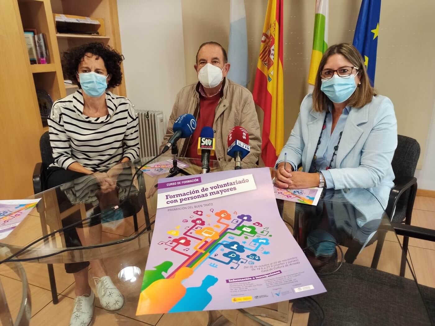 Lee más sobre el artículo El área de Servicios Sociales de Arnedo organiza un curso de formación para voluntarios que trabajan con personas mayores