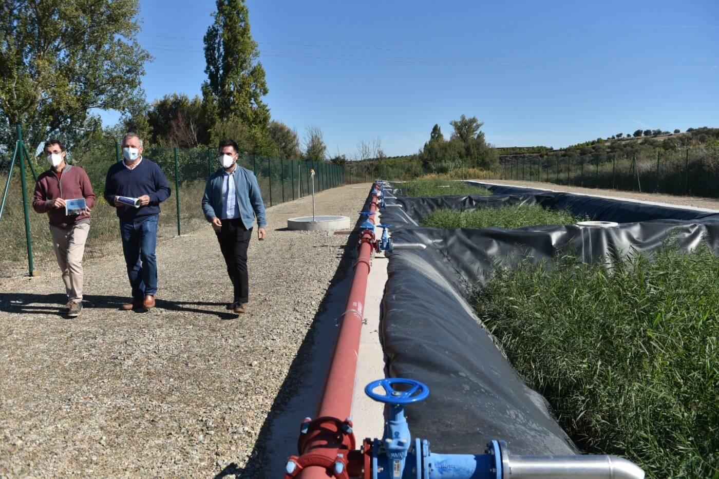 Lee más sobre el artículo Concluye la ampliación de la Estación Depuradora de Aguas Residuales de Galilea