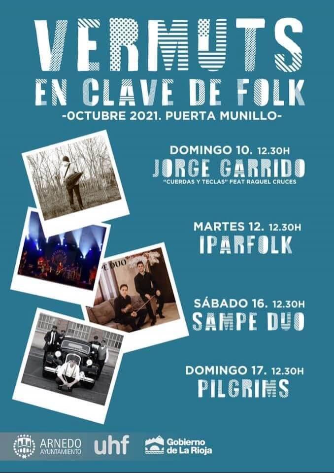Lee más sobre el artículo El ayuntamiento de Arnedo organiza 'Vermuts en clave de folk' para este mes de octubre
