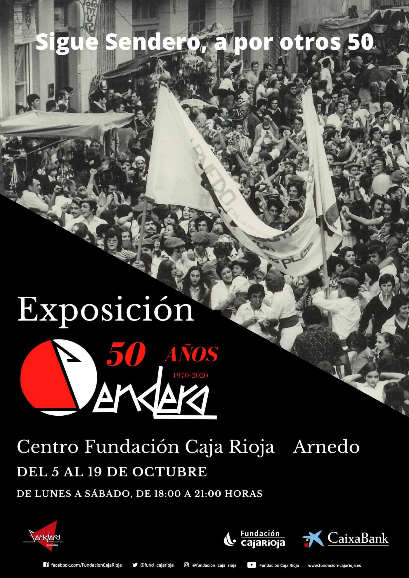 Lee más sobre el artículo El Centro Fundación Caja Rioja de Arnedo acoge una exposición del 50 aniversario de Sendero