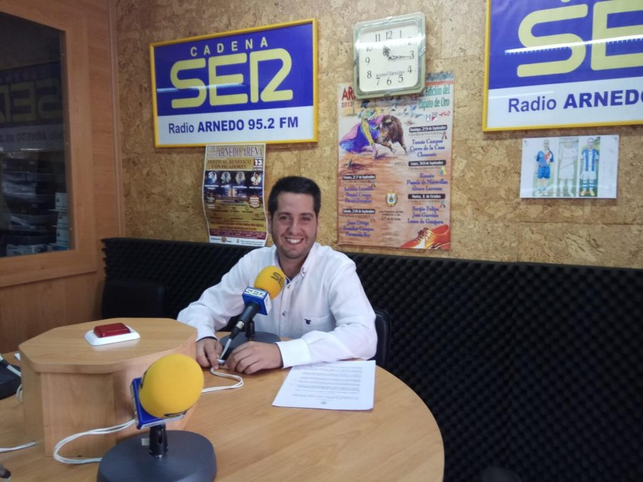 ALCALDE ARNEDO RADIO 18 JULIO