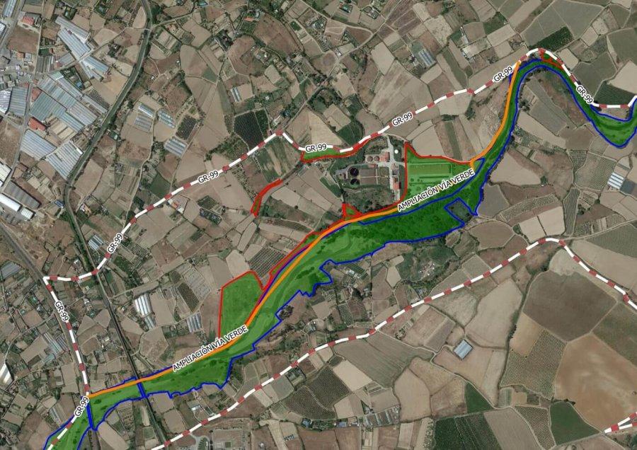 CALAHORRA ampliacion via verde 2 mapa