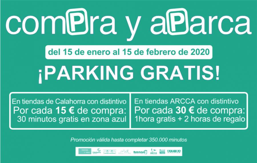 CALAHORRA cartel compra y aparca