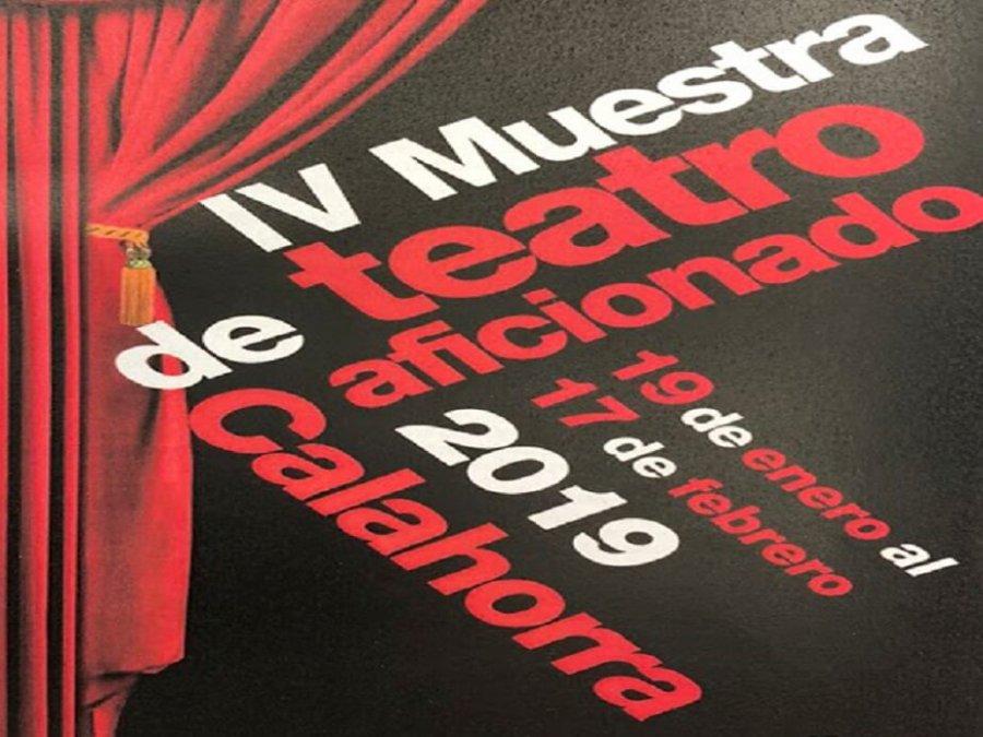 CALAHORRA cartel IV muestra teatro aficionado 2
