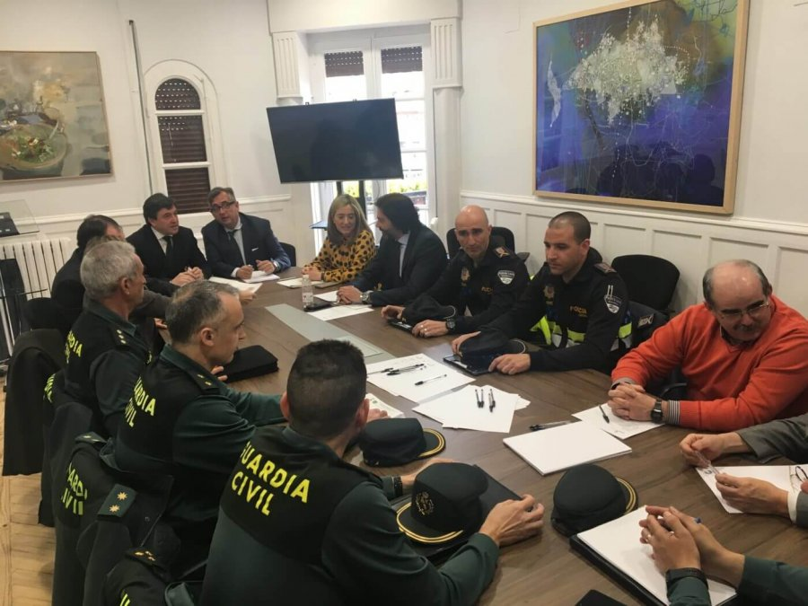 CALAHORRA junta seguridad