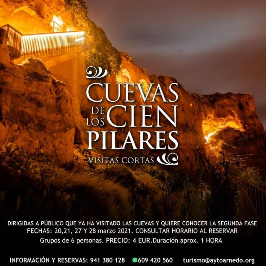 CARTEL cuevas cien pilares segunda fase
