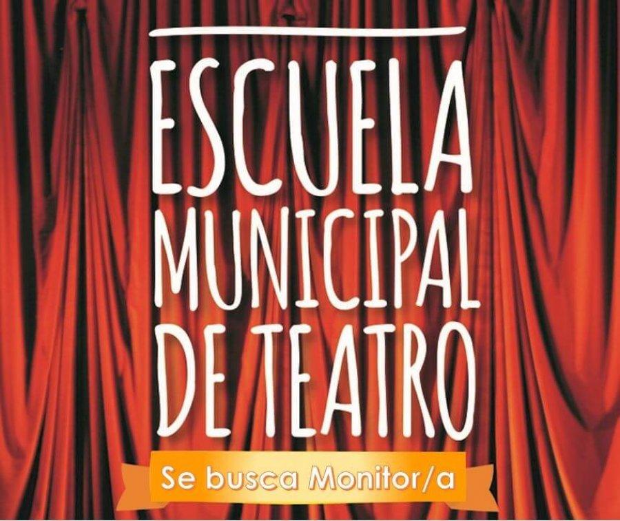 CARTEL escuela teatro busca monitor