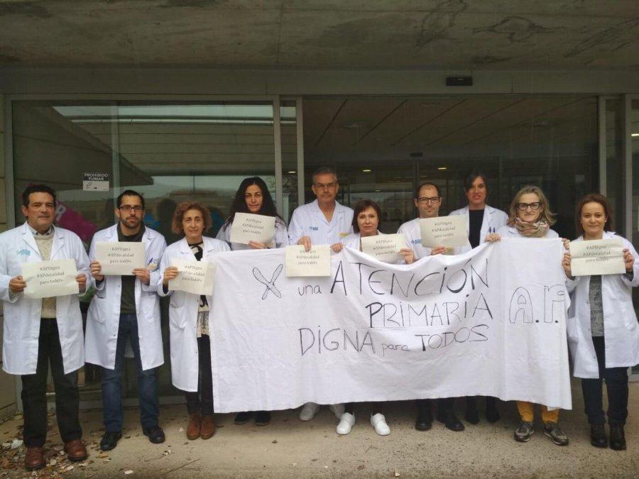 CENTRO SALUD ARNEDO PROTESTAS MEDICOS