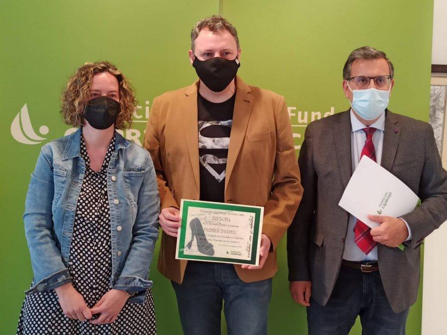CERTAMEN relatos con zapatos entrega premio Ernesto Tubia 1