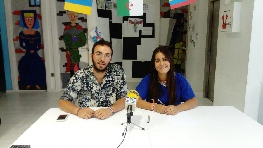 CONSEJO JUVENTUD David Garrido y Sofía Ezquerro