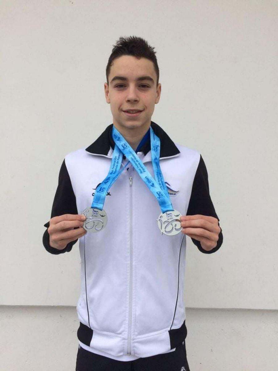 IVÁN MARTINEZ medalla camp España Málaga 2021-3