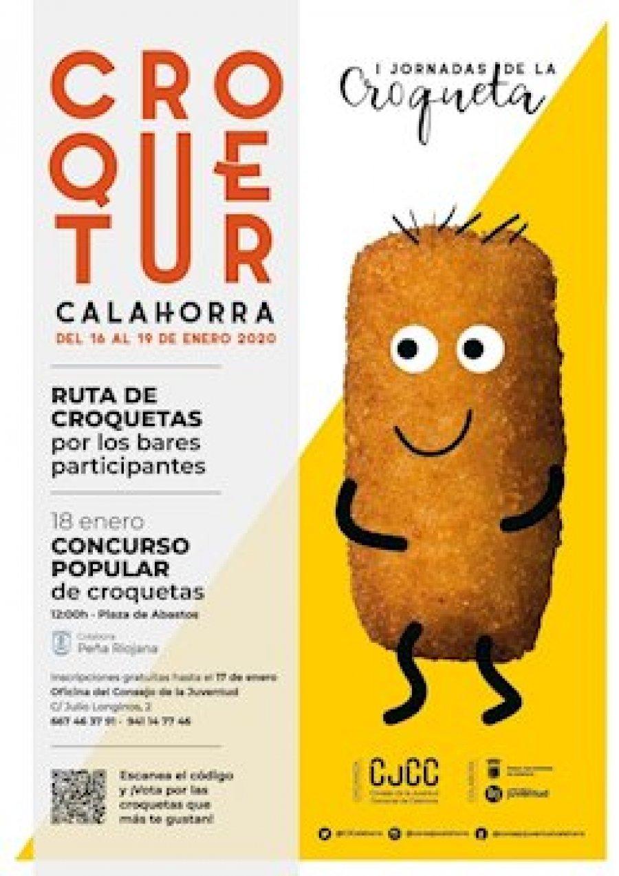 CALAHORRA cartel Croquetur 2020