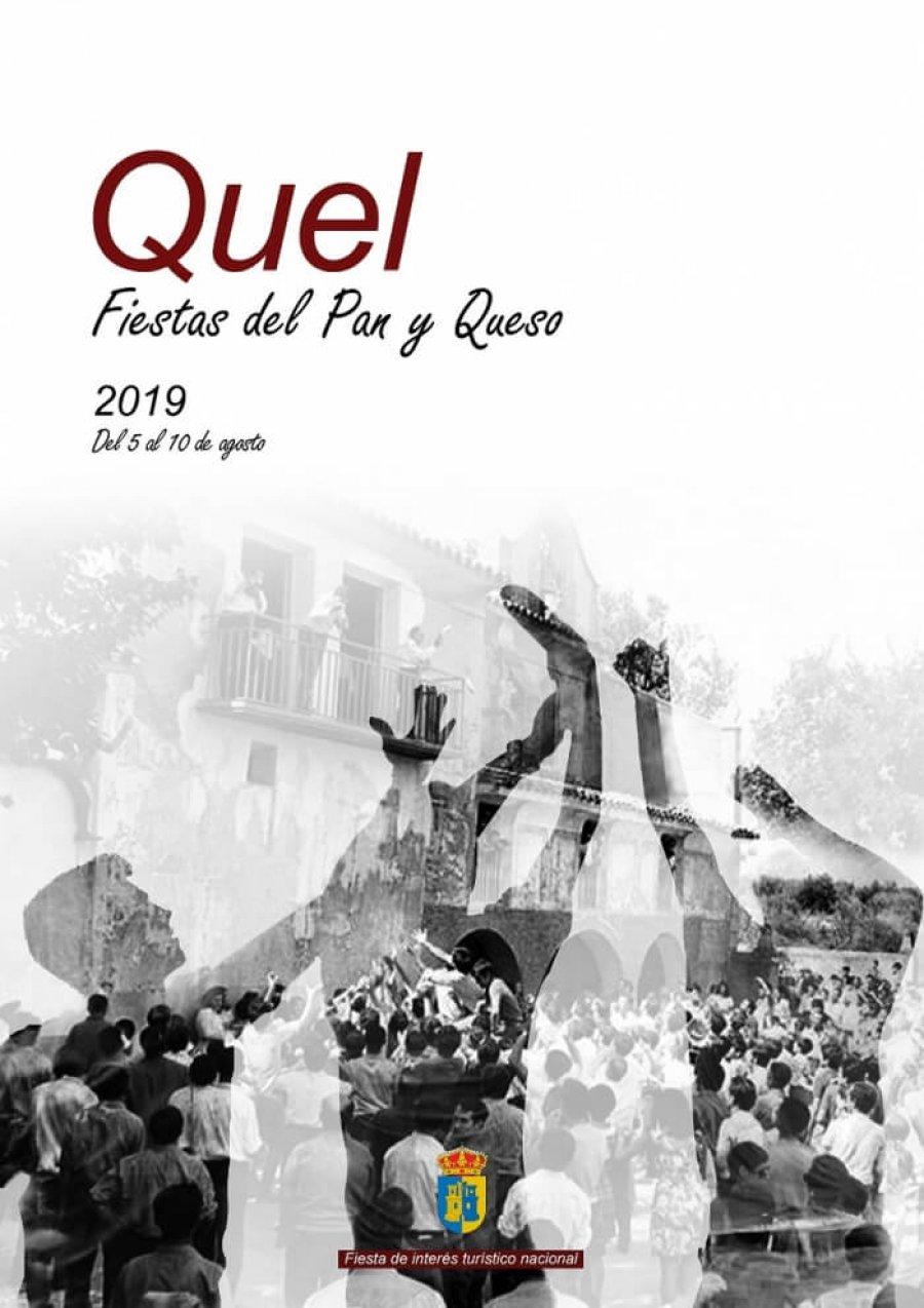 QUEL cartel fiestas pan y queso 2019