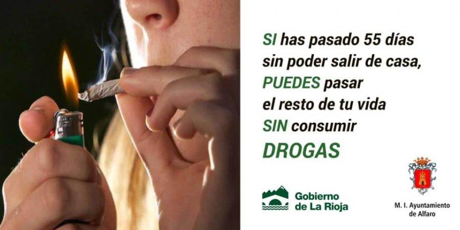 ALFARO cartel campaña jovenes drogas 2