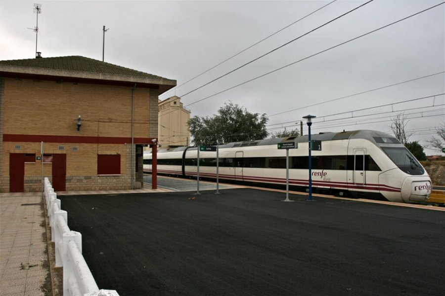 ALFARO estacion de tren