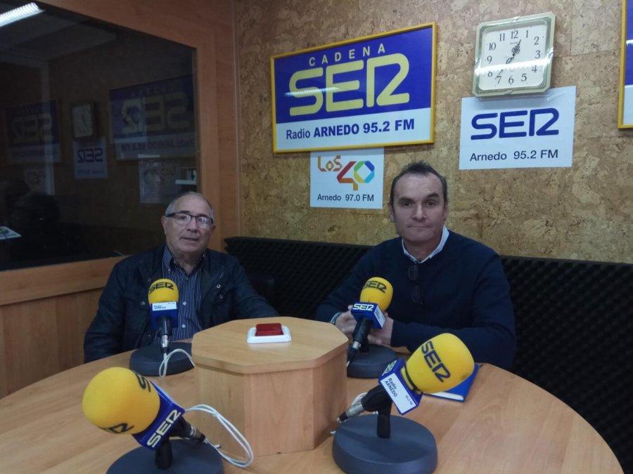 TOÑO EGUIZABAL Y CARLOS TOMÁS radio