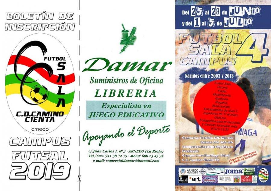 CD CAMINO CIENTA CAMPUS SARA ITURRIAGA