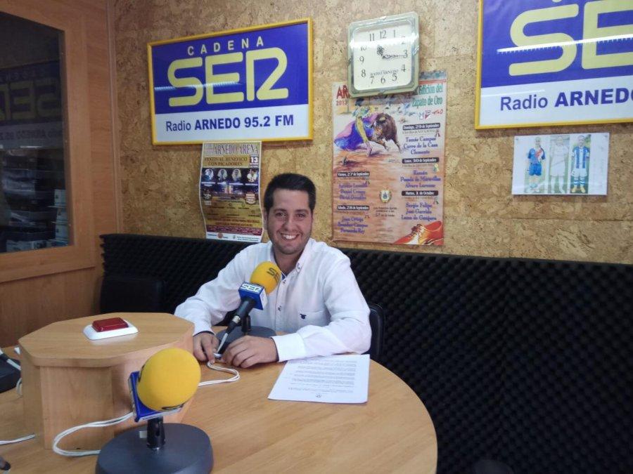 ALCALDE ARNEDO JG radio 18 julio