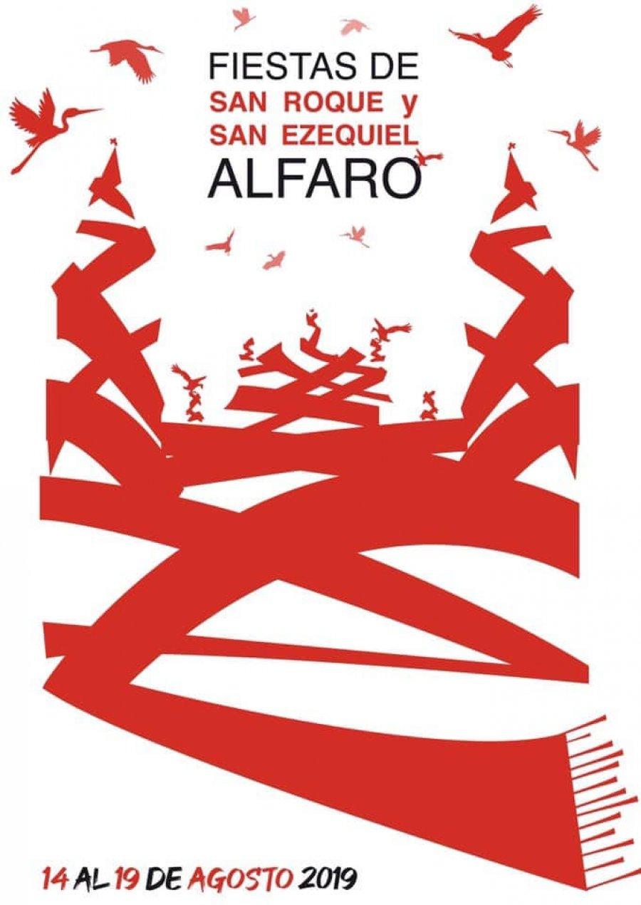 ALFARO CARTEL FIESTAS AGOSTO