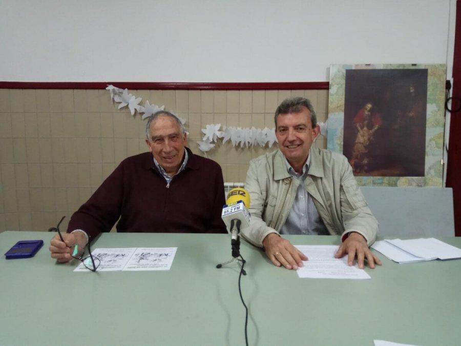 CÁRITAS HOMENAJE MAYORES