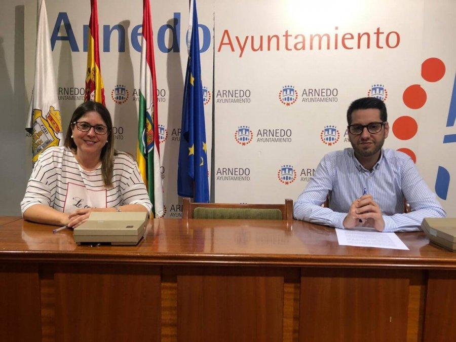 ALCALDE ARNEDO Y ROSA HERCE balance Servicios Sociales Covid