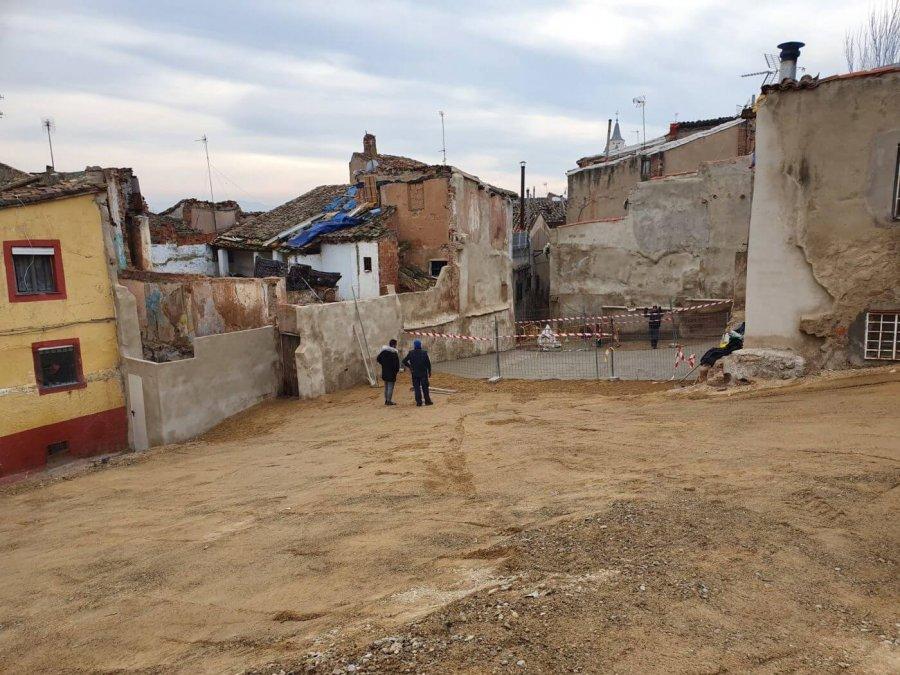 CALAHORRA calle Curruca despues intervencion