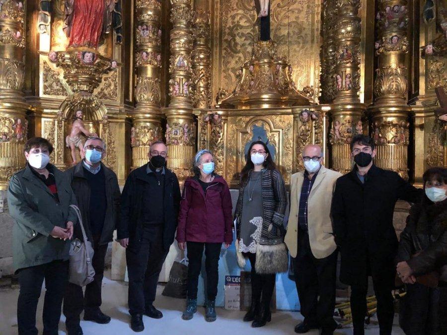 CALAHORRA Visita capilla cristo de la pelota1