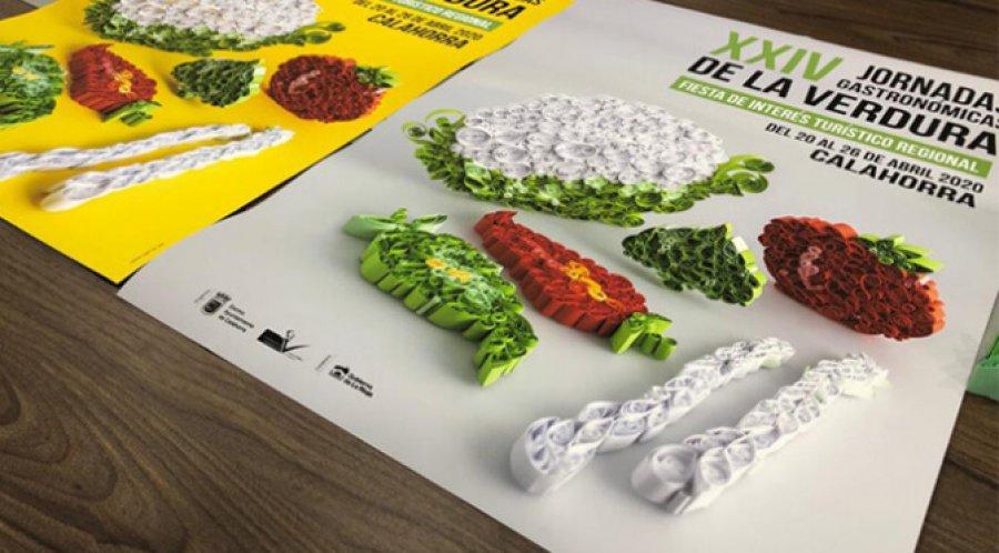 CALAHORRA cartel jornadas verdura 2020