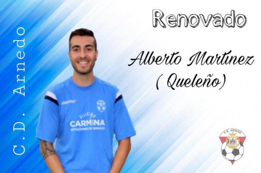 CD ARNEDO renovación Alberto Martínez