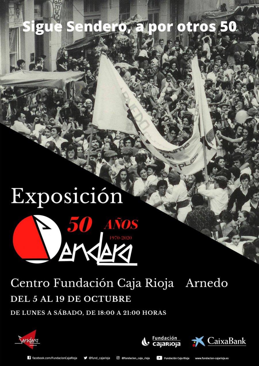 SENDERO EXPOSICIÓN 50 ANIV cartel