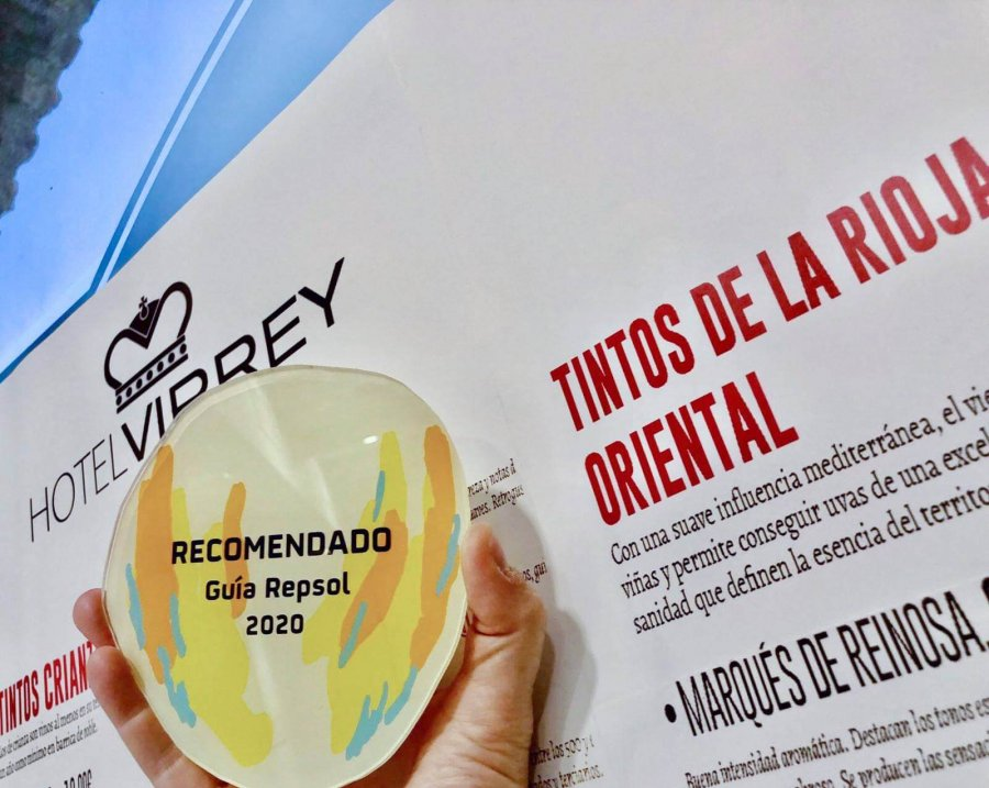 HOTEL VIRREY recomendado Guia Repsol