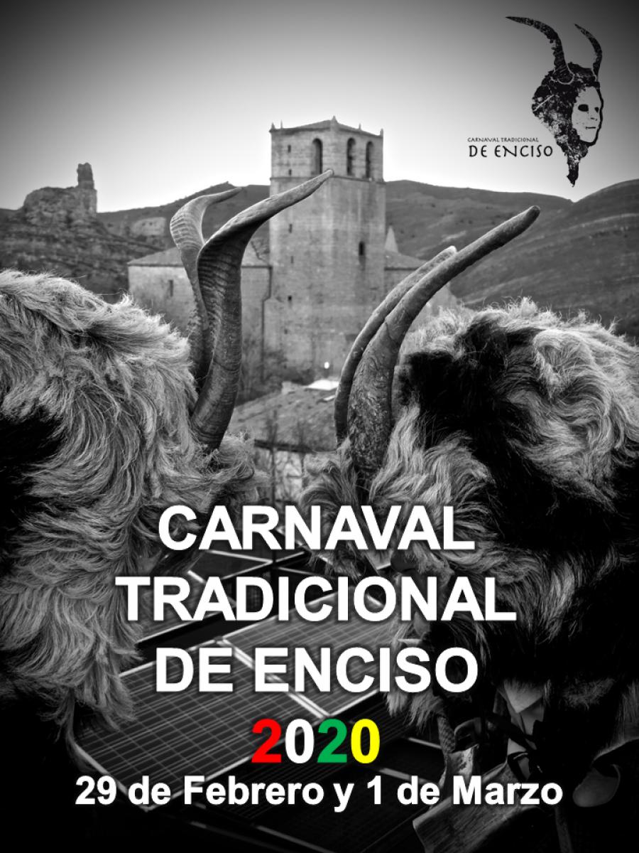 ENCISO CARNAVAL TRADICIONAL cartel