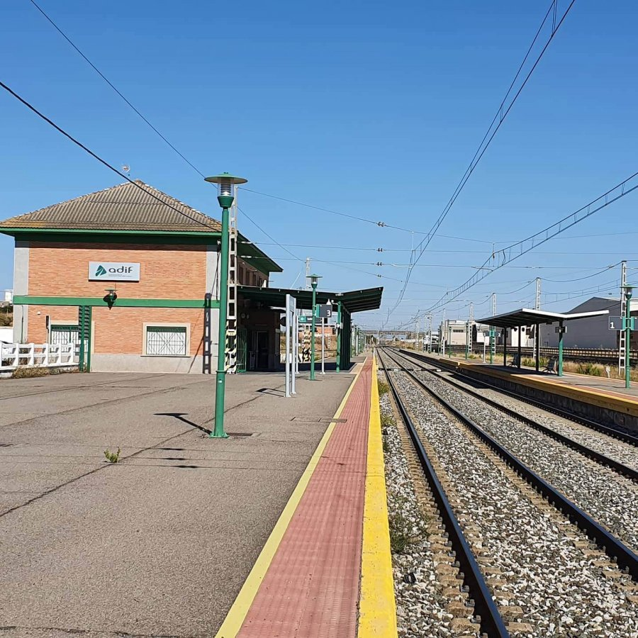 CALAHORRA estacion tren 3