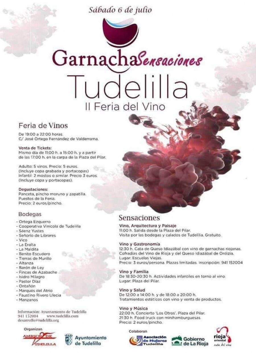 TUDELILLA FERIA VINO GARNACHA SENSACIONES 1 2019
