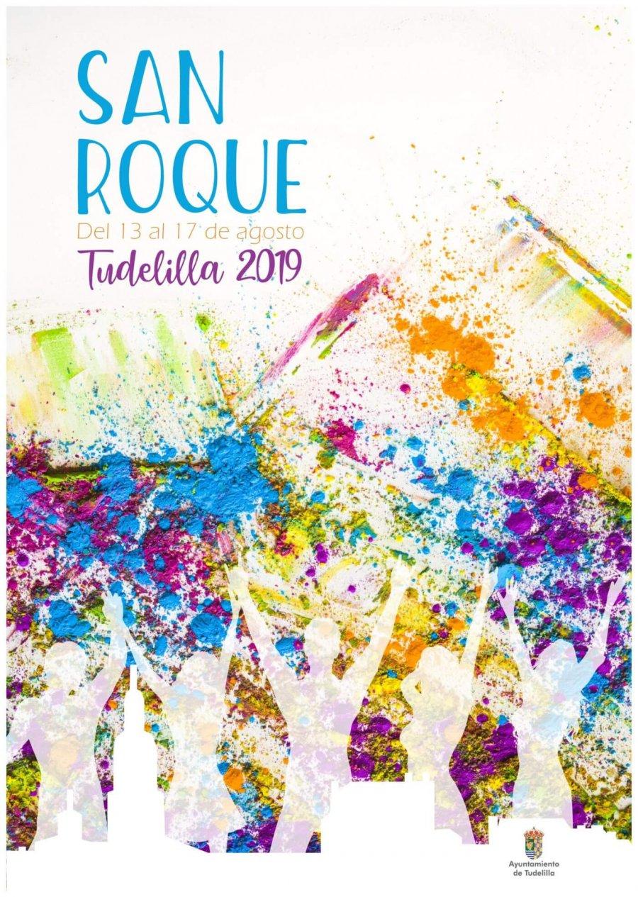 TUDELILLA FIESTAS SAN ROQUE cartel