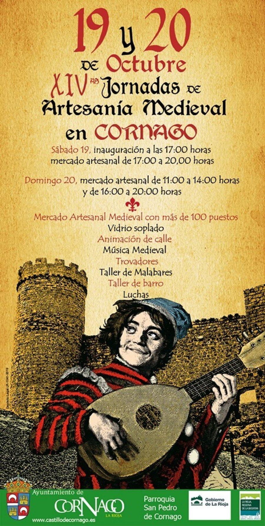 CORNAGO JORNADAS ARTESANIA MEDIEVAL 2019
