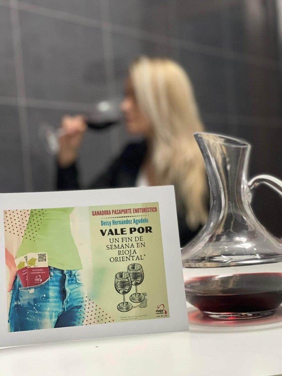 RIOJA ORIENTAL premio Deysi finde